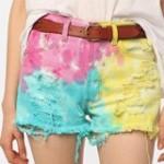 Cut Off Denim Shorts3