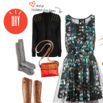 Day to Play: Printed Holiday Dress